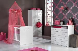 Tips voor het inrichten van de babykamer for Kamer voor een klein meisje