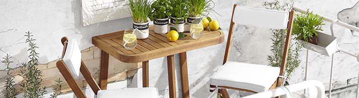 maak je balkon zomerklaar met deze tips. Black Bedroom Furniture Sets. Home Design Ideas